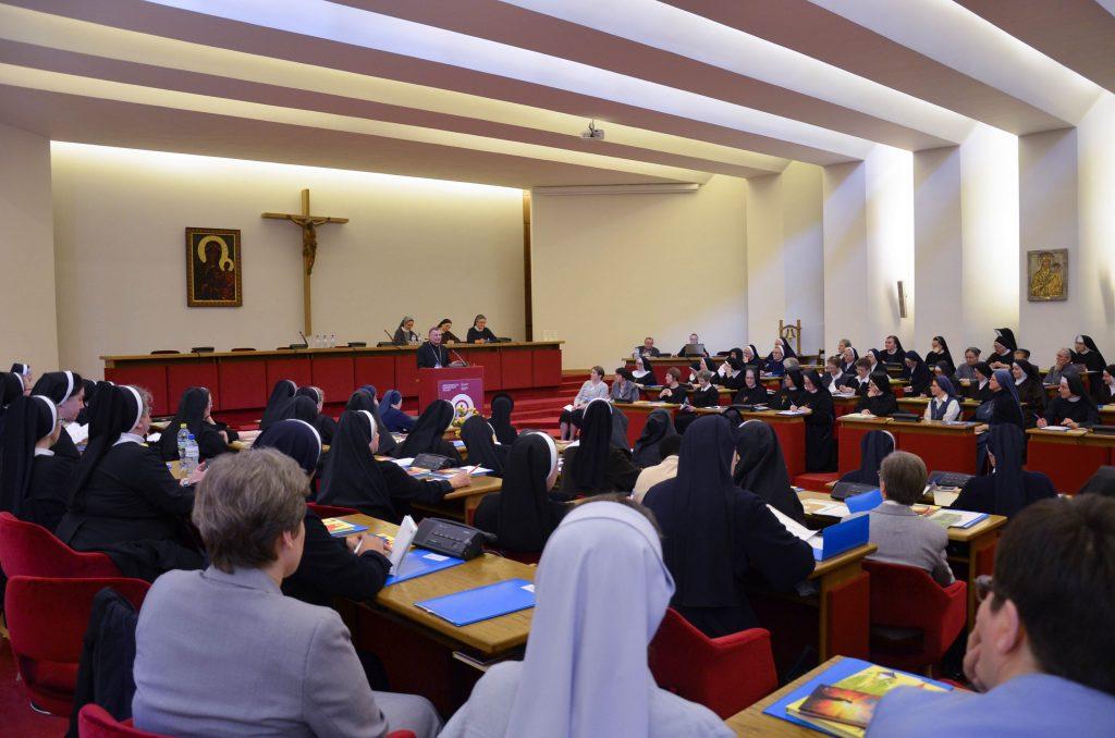 Posiedzenie Wyższych Przełożonych Zgromadzeń Zakonnych Żeńskich
